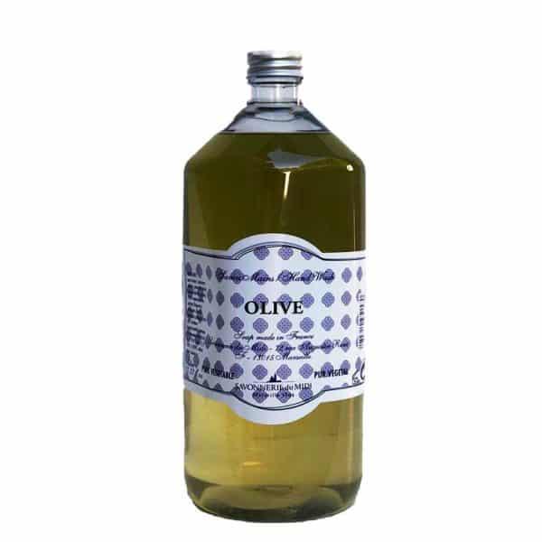 Savon liquide pour les mains à l'olive