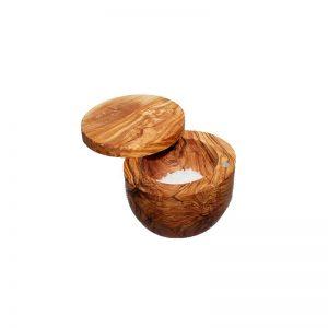 Main à sel en bois d'olivier