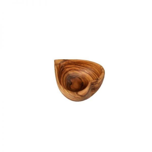 Cœur creux en bois d'olivier