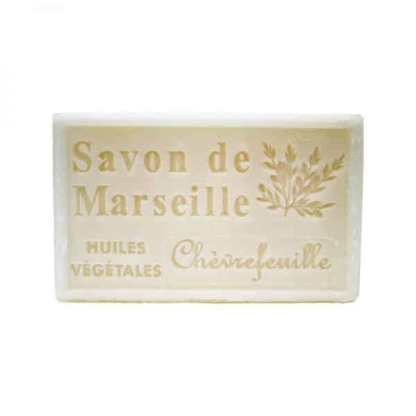 Savon de Marseille au Chèvrefeuille - Pain de 125 gr