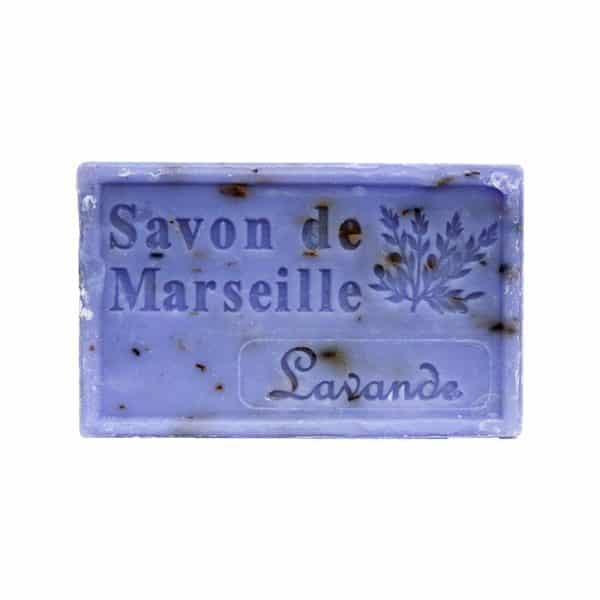 Savon de Marseille à la fleur de Lavande - Pain de 125 gr
