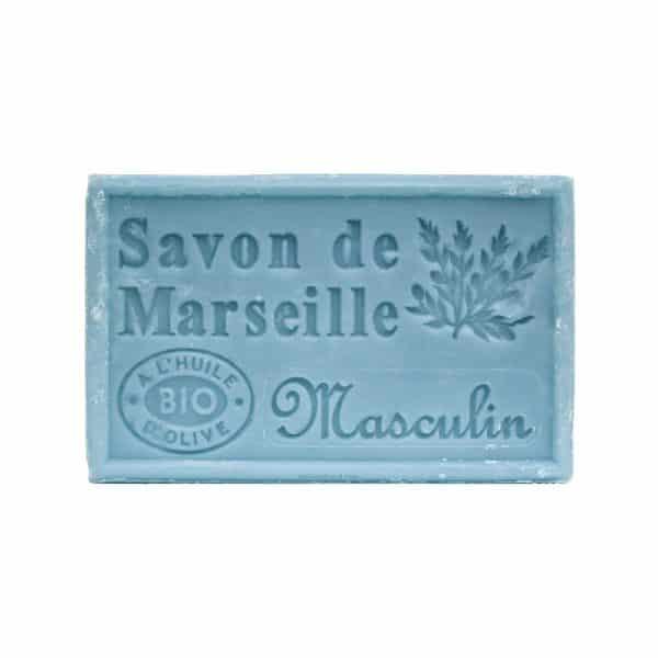 Savon de Marseille Masculin - Pain de 125 gr