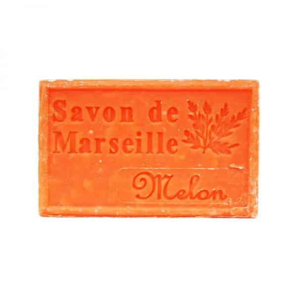 Savon de Marseille au Melon - Pain de 125 gr
