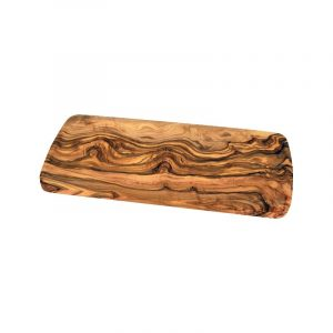 Plat à cake en bois d'olivier