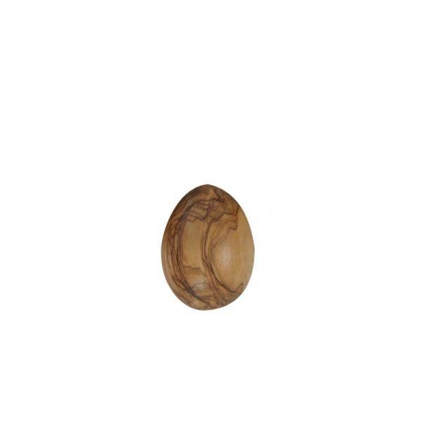 Œuf à repriser en bois d'olivier.