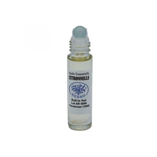 Anti-Moustiques à la Citronnelle - Roll'on huile essentielle 8 ml - Provencao